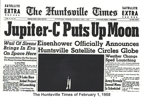 Huntsville Times from February 1, 1958.