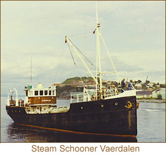 Steam Schooner Vaerdalen.